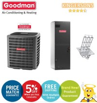 Goodman GSZ140361K ARUF37C14A SEER 14 Heat Pump Air Conditioner Split System