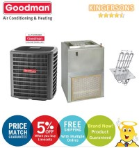 3 Ton Goodman GSX160301F AWUF370516B SEER 14.5 Air Conditioner Split System