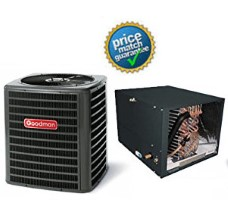 5 ton Goodman SSZ160601B CHPF4860D6D MBVC2000AA1A SEER 16 Heat Pump Air Conditioner Split System