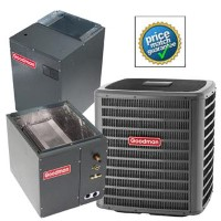 5 ton Goodman SSZ140601A CAPF4961D6D MBVC2000AA1A SEER 15 Heat Pump Air Conditioner Split System