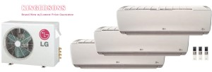 LG TRI ZONE LMU24CHV  LSN090HSV4 LSN120HSV4 (TWO) Ductless Split System