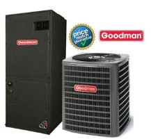 4 ton Goodman SSZ140481A ASPT48C14A SEER 14 Heat Pump Air Conditioner Split System