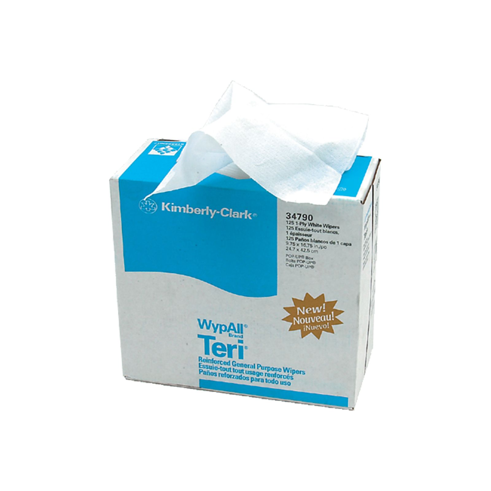 Kimberly-Clark 5-34790 - DiversiTech  - Teri Reinforced Towels, Pack of 126