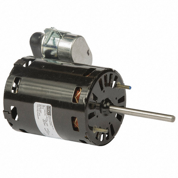 FASCO 1/8 HP Condenser Fan Motor, Permanent Split Capacitor, 3200 Nameplate RPM, 480 Voltage