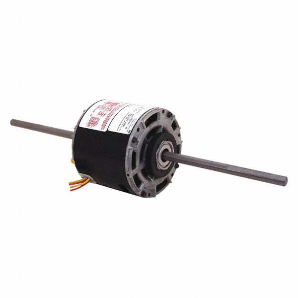 1/8 HP Room Air Conditioner Motor,Permanent Split Capacitor,1075 Nameplate RPM,277 Voltage,Frame 42Y