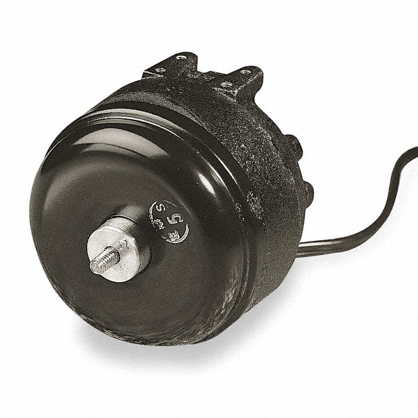 1/47 HP Unit Bearing Motor, Shaded Pole, 1500 Nameplate RPM,230 Voltage, Frame Non-Standard