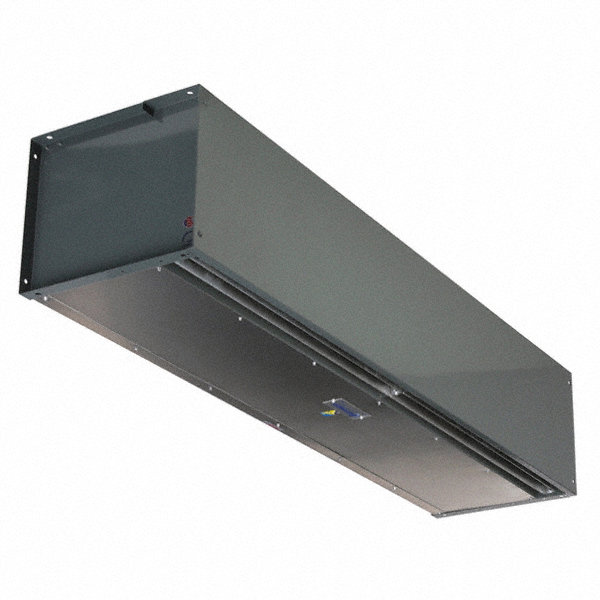 BERNER High Velocity BERNER Air Curtain, 6 ft. 6' Max. Door Width, 10 ft. Max. Mount Ht., 63 dBA @ 10 Feet, 4000 f