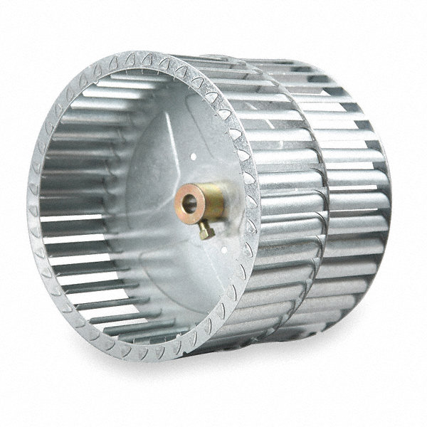REVCOR Blower Wheel,5-1/4' dia.,8'W
