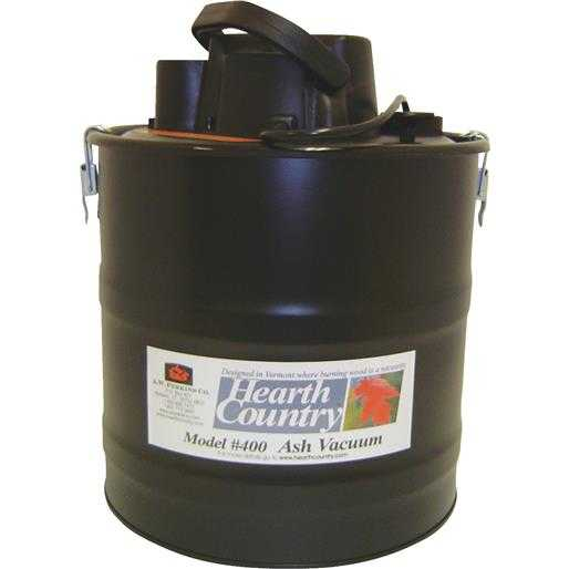 Meeco Mfg. Co. Inc. Stove Ash Vacuum 400 Unit: EACH