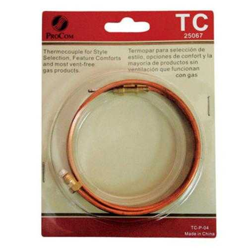 ProCom TC Thermocouple, 24' Long