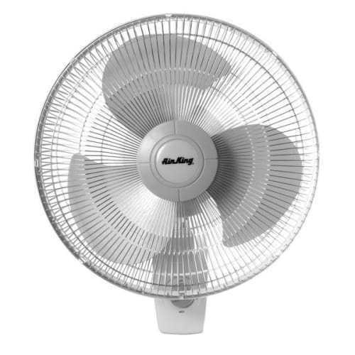 Air King 9012 12' 930 CFM 3-Speed Commercial Grade Oscillating Wall Mount Fan