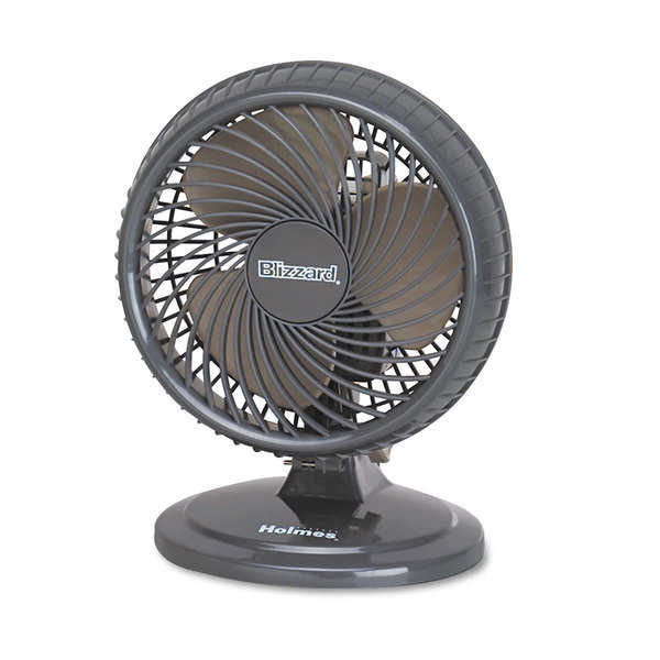 Holmes Lil' Blizzard 7 inches Two-Speed Oscillating Personal Table Fan
