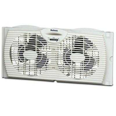 Jarden Hawf2021-N Dual Blade Twin Window Fan - White