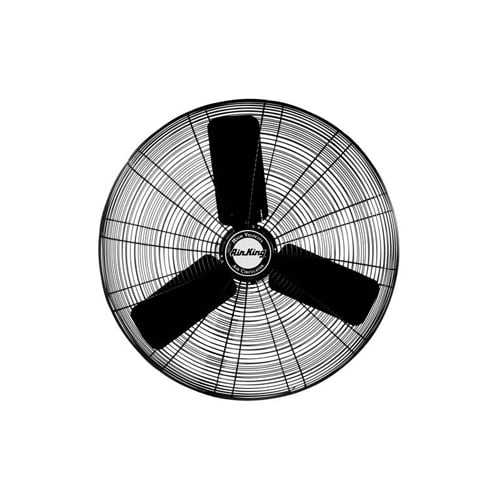 Air King 9125H 24' 5130 CFM 3-Speed Industrial Grade Oscillating Assembled Fan Head