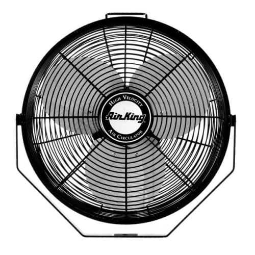 Air King 9314 14' 1650 CFM 3-Speed Industrial Grade Multi Mount Fan with Pivoting Head