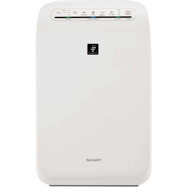 Sharp FP-F60UW Plasmacluster Ion Air Purifier with True HEPA Filtration (Coverage up to 280 square feet) - White