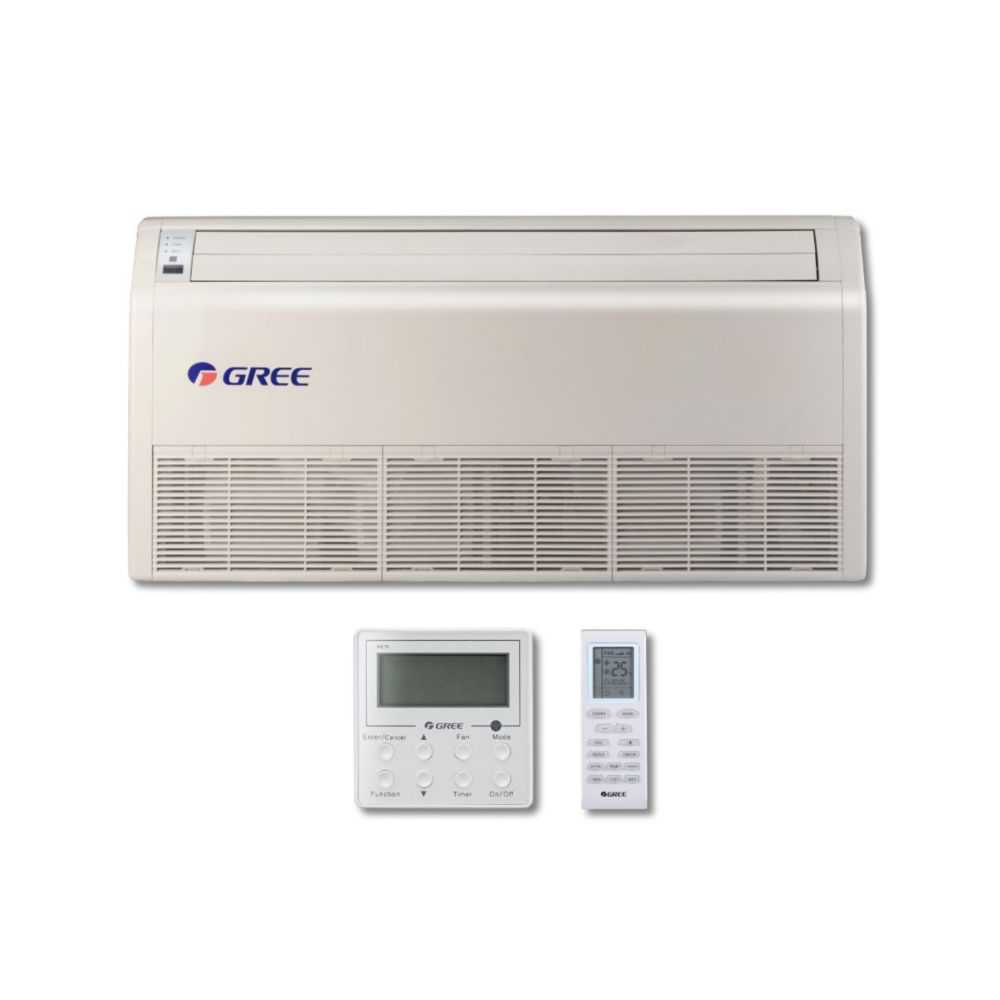 Gree MULTI36CFLR207 - 36,000 BTU Multi21+ Dual-Zone Floor/Ceiling Mini Split Air Conditioner Heat Pump 208-230V (18-18)