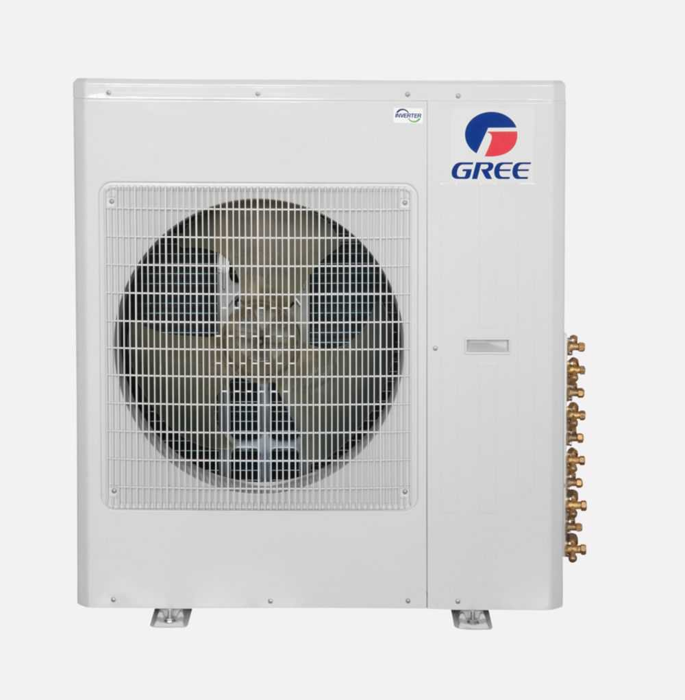 Gree Terra MULTI36CTERRA300 - 36,000 BTU Multi21+ Tri-Zone Wall Mount Mini Split Air Conditioner Heat Pump 208-230V (9-9-9)