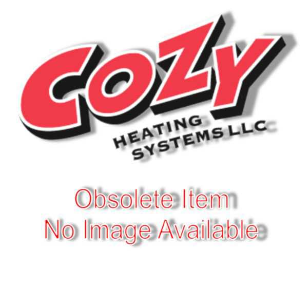 Cozy - W355F - 35,000 BTU Gravity Wall Furnace