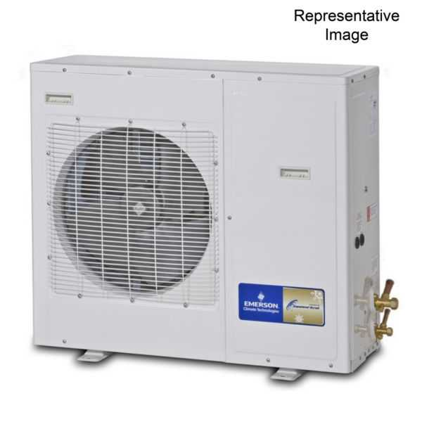 Emerson Climate - XJAM-040Z-TFC-022 - 4 HP, Refrigeration Condensing Unit, 208/230-3