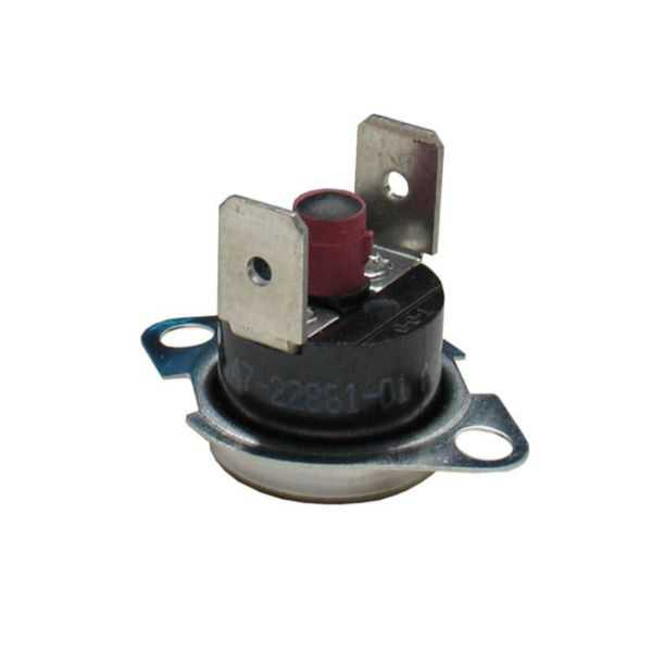 THERMODISC 47-22861-01 - Limit Switch - Manual Reset (Flanged Airstream)