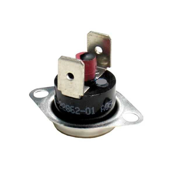 Rheem 47-22862-02 Limit Switch - Manual Reset (Flanged Airstream)