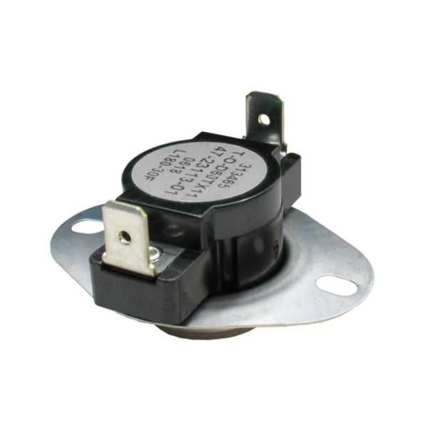 THERMODISC 47-23113-01 - Limit Switch - Auto Reset (Flanged Airstream)