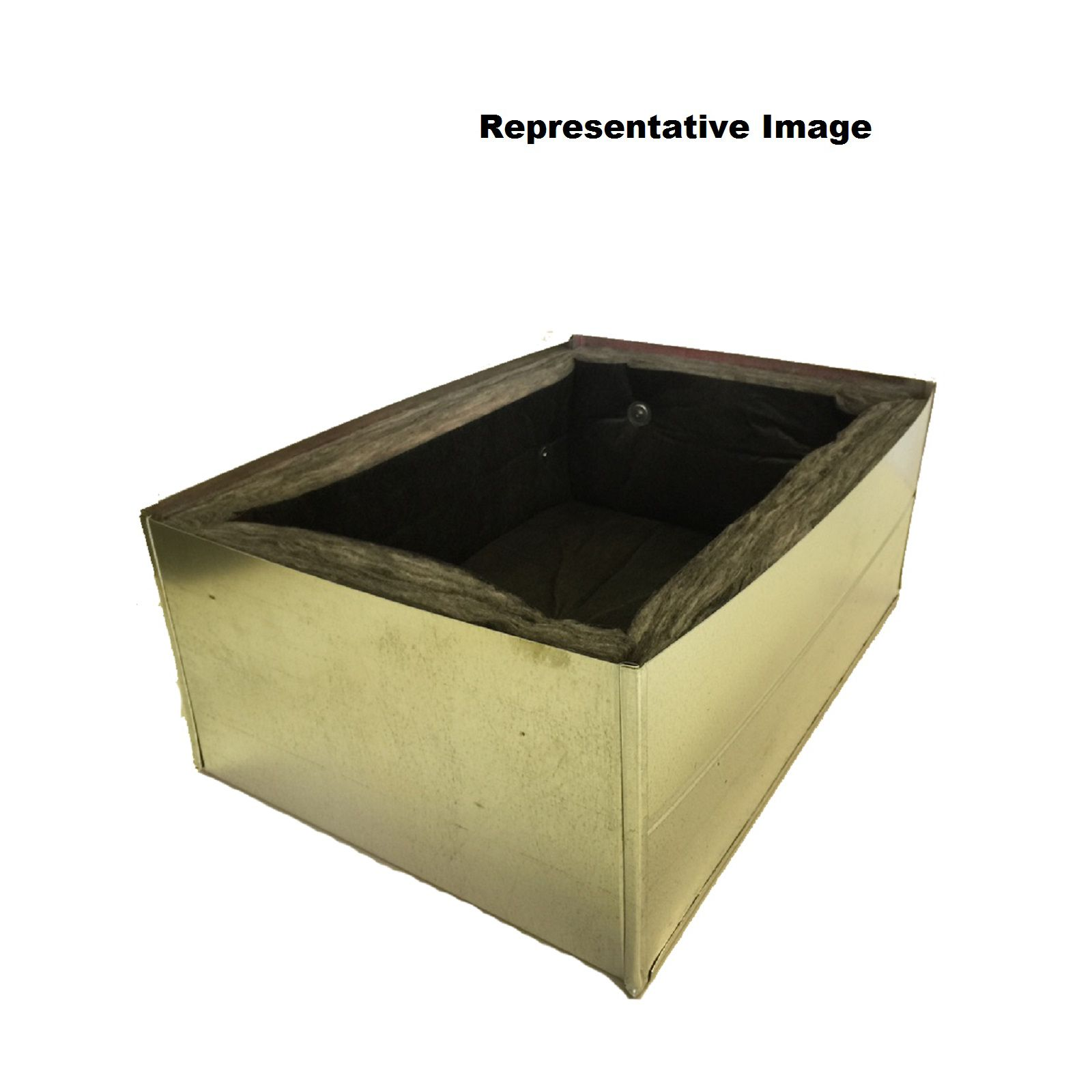"Royce RB14X30X8 - Return Box (Out The Back), R8 Insulated, 14"" X 30"" X 8"""