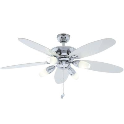 Panorama 52 in. Chrome Ceiling Fan