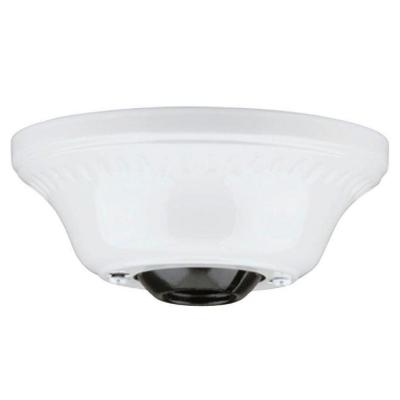 White Cathedral Ceiling Canopy Kit