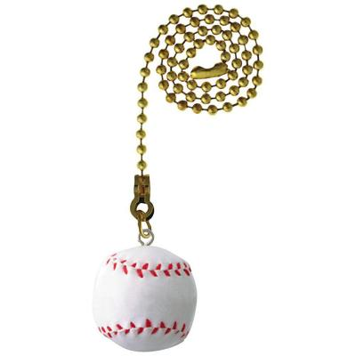12 in. Baseball Sport-Themed Pull Chain
