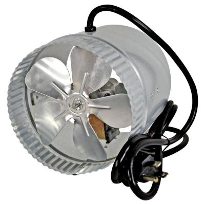 6 in. Corded Duct Fan with More Powerful Motor
