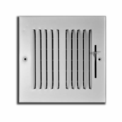6 in. x 6 in. 2 Way Wall/Ceiling Register