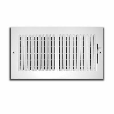 10 in. x 8 in. 2 Way Wall/Ceiling Register