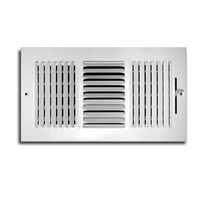 8 in. x 6 in. 3-Way Wall/Ceiling Register