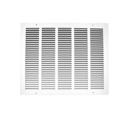 18 in. x 12 in. Return Air Grille, White