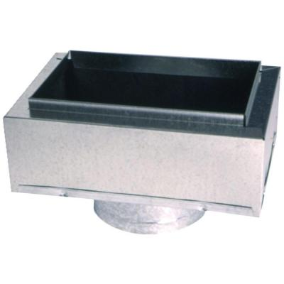 12 in. x 6 in. to 8 in. Insulated Register Box