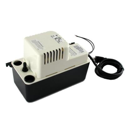 115-Volt 20 ft. Shutoff 1/30 HP GPH 25 15 ft. Condensate Pump Includes Check Valve and Safety Switch