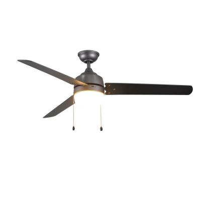 Carrington 60 in. Natural Iron Ceiling Fan