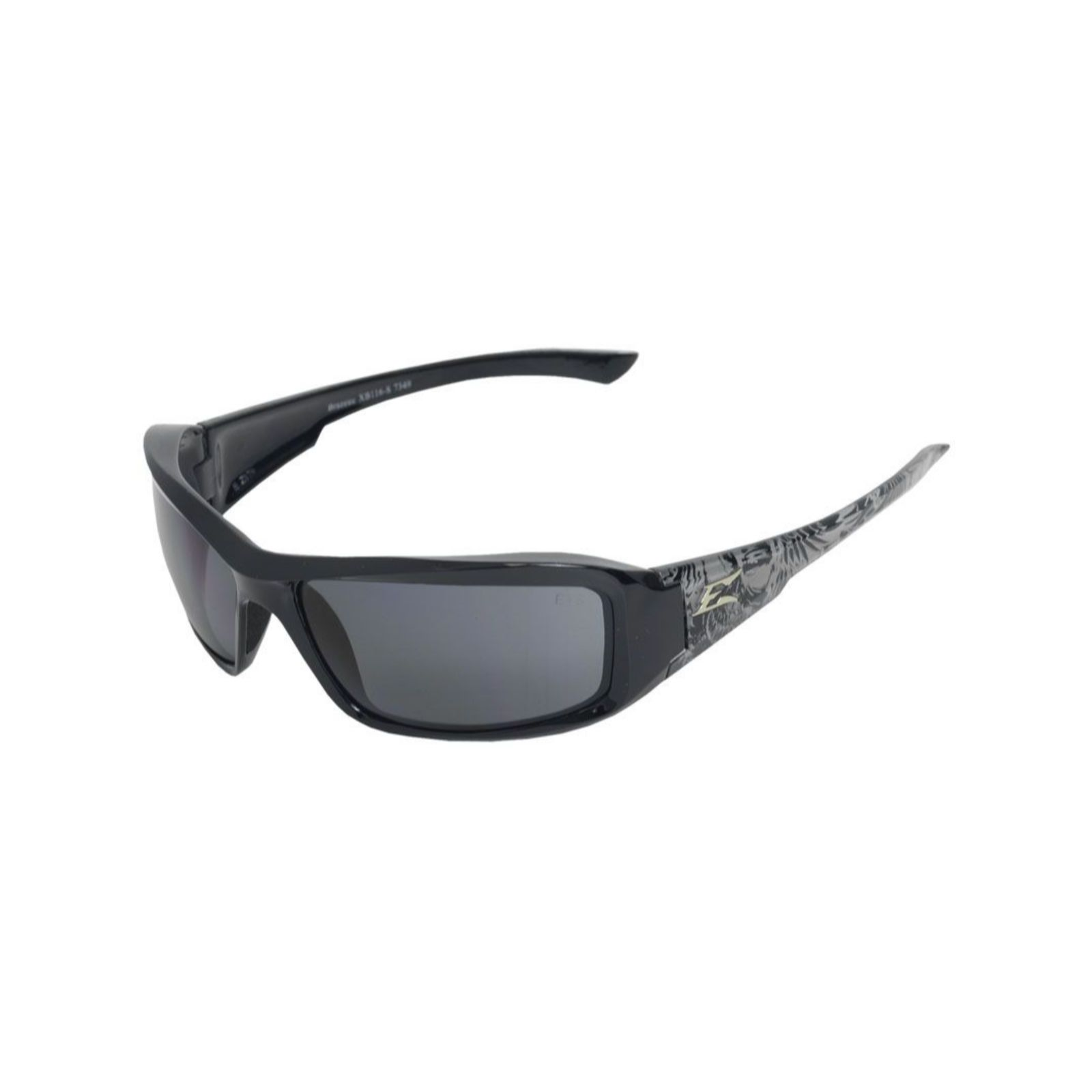 Wolf Peak XB116-S - Safety Glasses - Brazeau Black Skull Series/Smoke